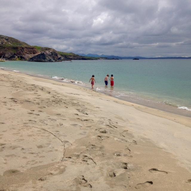 Swim at Island